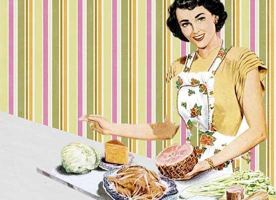 long ago house wife