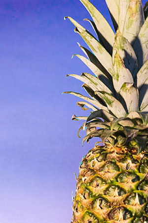 add pineapple to your blended juices