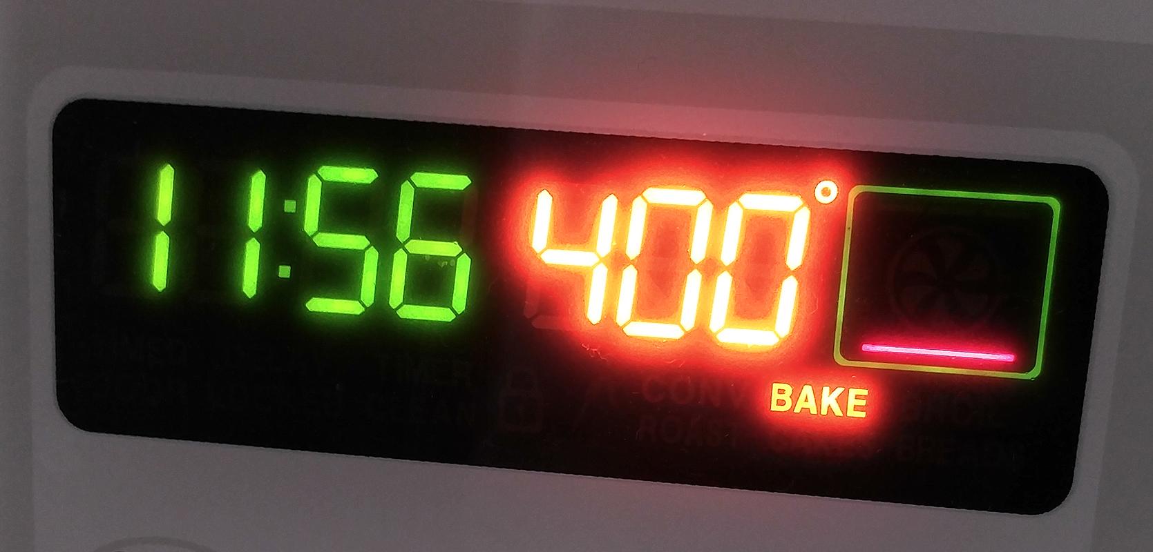 400 degrees F