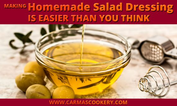 Making Homemade Salad Dressing is Easier Than You Think