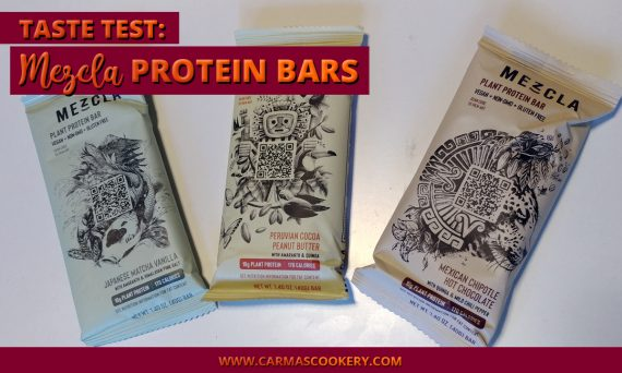 Taste Test - Mezcla Protein Bars