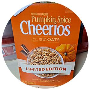 Cheerios Limited Edition Pumpkin Spice