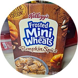 Kellogg's Frosted Mini-Wheats, Pumpkin Spice
