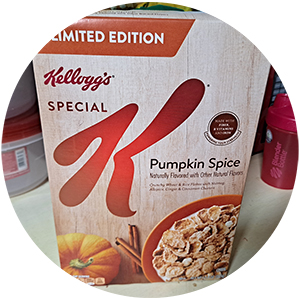 Kellogg's Special K Limited Edition Pumpkin Spice