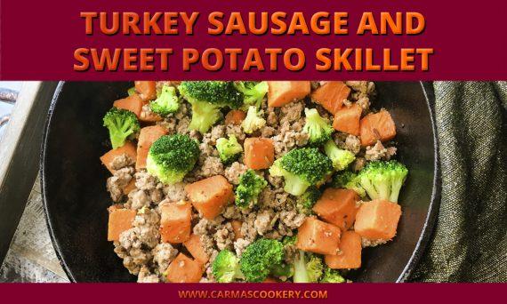 Turkey Sausage and Sweet Potato Skillet