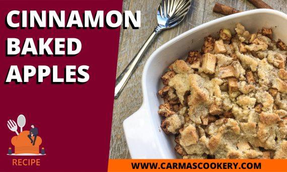 Cinnamon Baked Apples