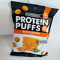 Shrewd Food Baked Cheddar Flavored Protein Puffs