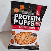 Shrewd Food Brick Oven Pizza Protein Puffs