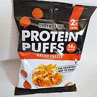 Shrewd Food Nacho Cheese Protein Puffs