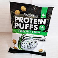 Shrewd Food Sour Cream & Onion Protein Puffs