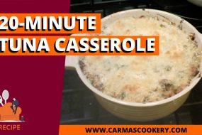 20-Minute Tuna Casserole